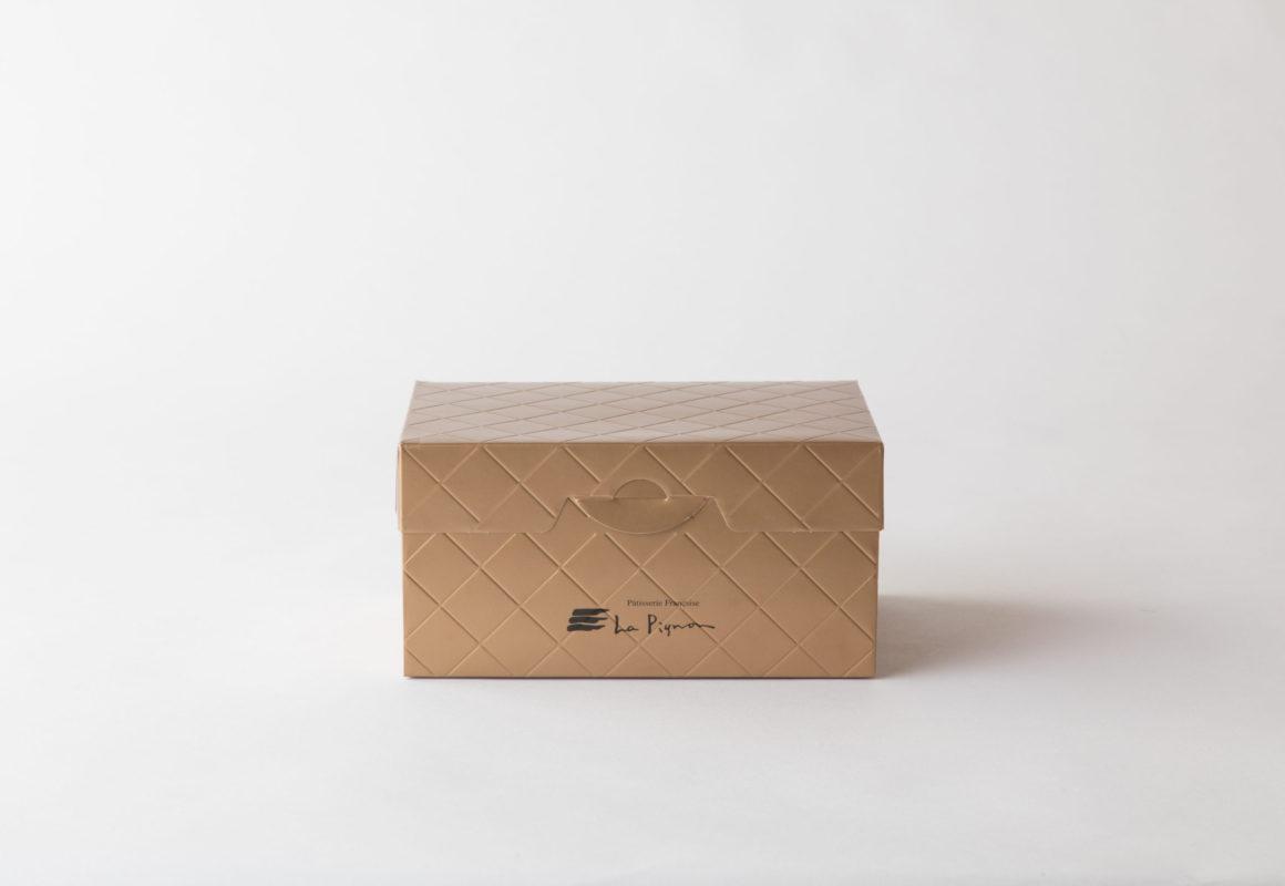 クロスラインケーキ箱