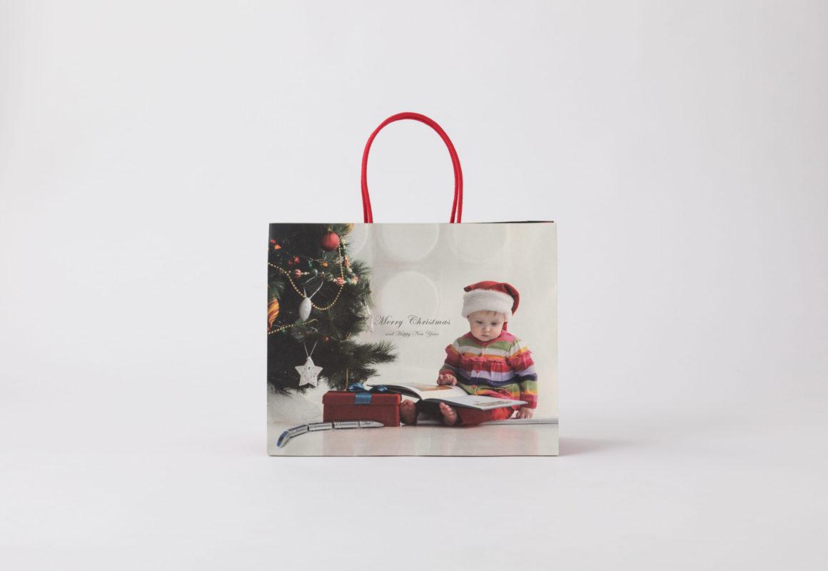 クリスマス手提袋