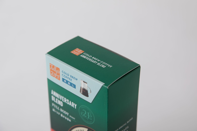 水出しアイスコーヒー ANNIVERSARY BLENDパッケージ