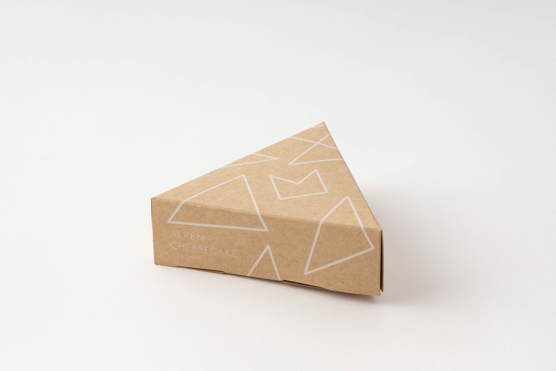 アルペンチーズケーキパッケージ